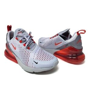 Nike Air Max 270 Men's Wolf Grey Red Running shoes